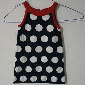 ⬇⬇ Gymboree Polka Dot Sweater Dress Jumper 3 3T